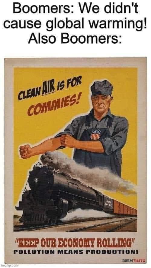 Memes Baby boomers capitalism versus communism