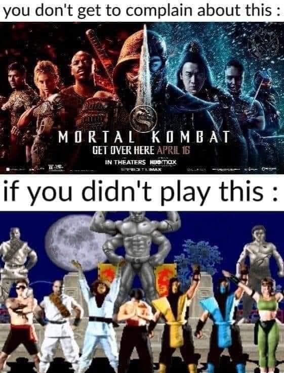 Memes 2021 Mortal Kombat movie