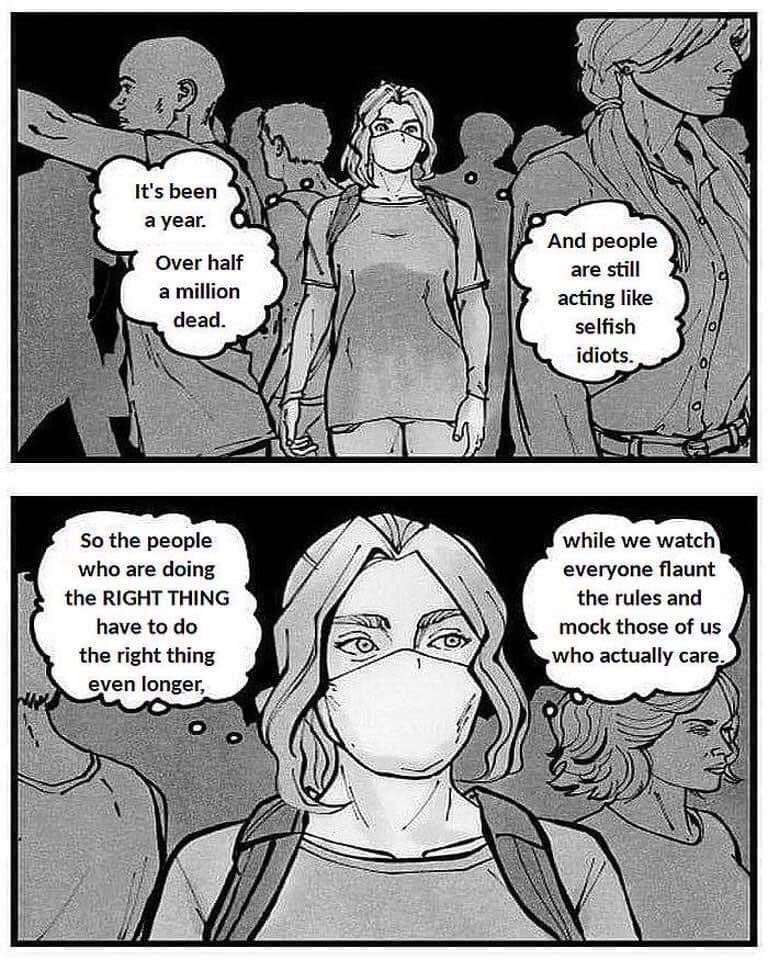 Memes Why we wear a mask COVID-19