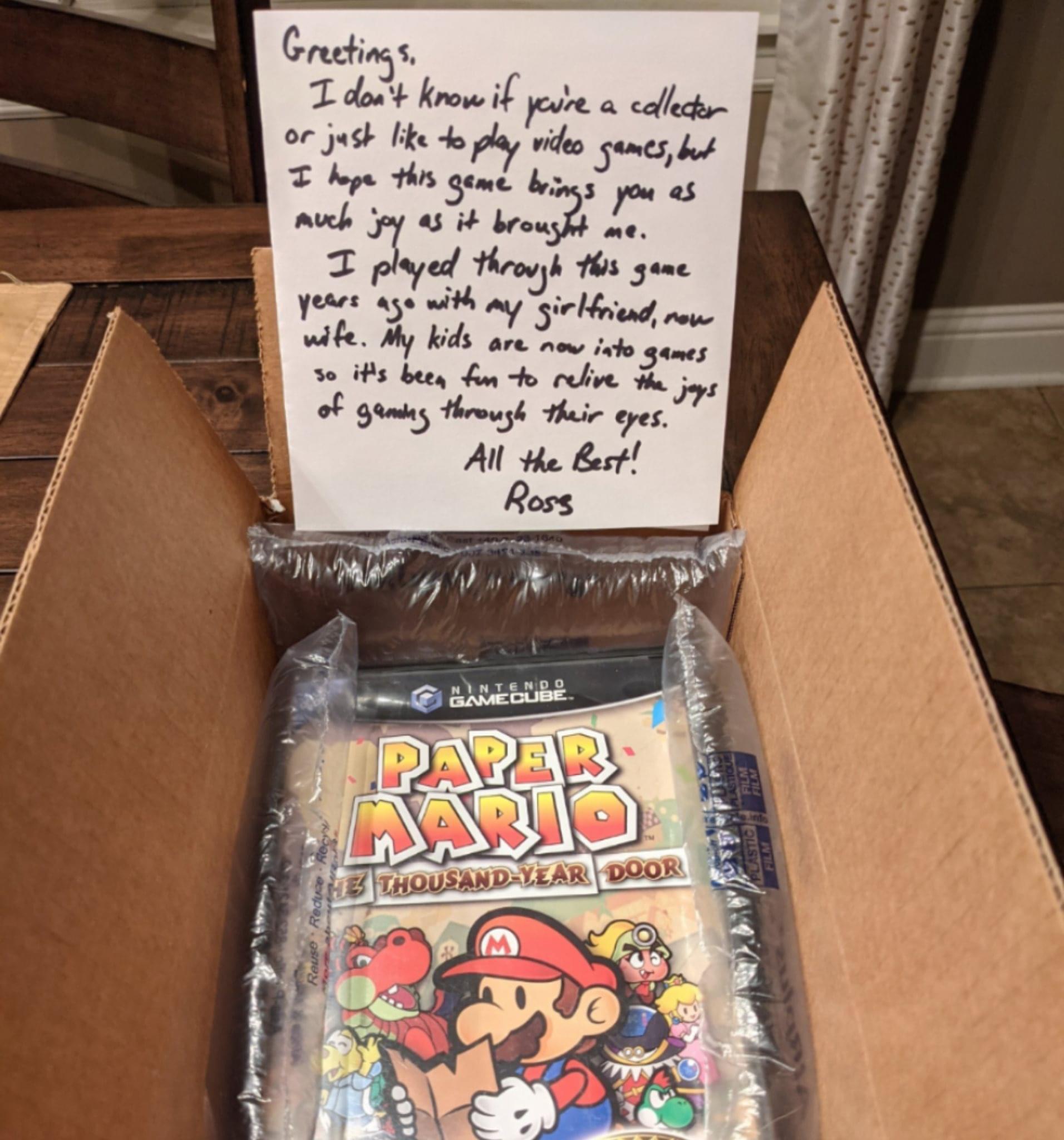 Memes Paper Mario the thousand year door Nintendo game cube