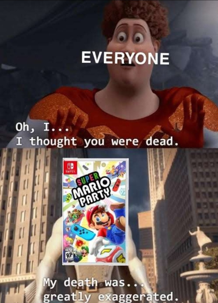 Memes Super Mario party Nintendo switch