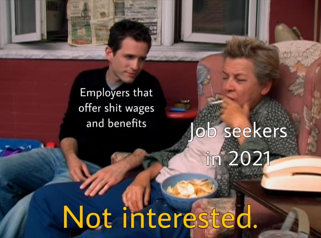 Memes Low paying employers