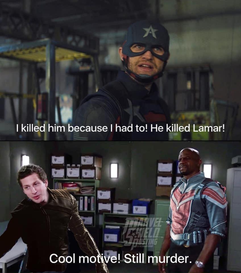 Memes Captain America John Walker murder motive
