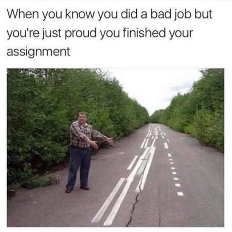 Memes Being proud of yourself