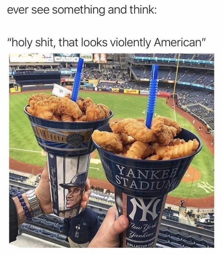 Memes yankee stadium food