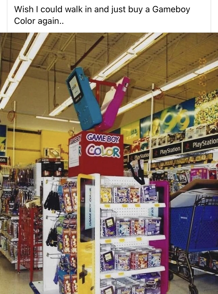 "Memes Game boy color Toys ""R"" Us"