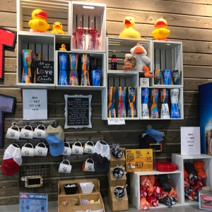 Duck donuts merchandise t-shirts and stuff animals