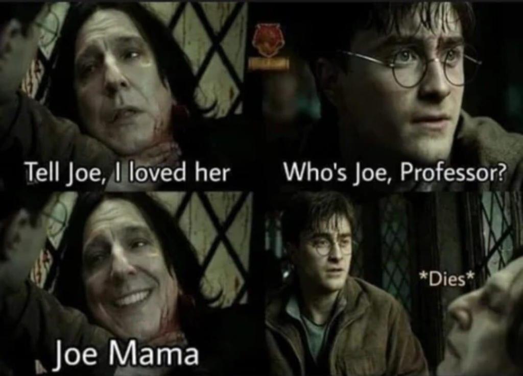 Memes Severus Snape and harry potter