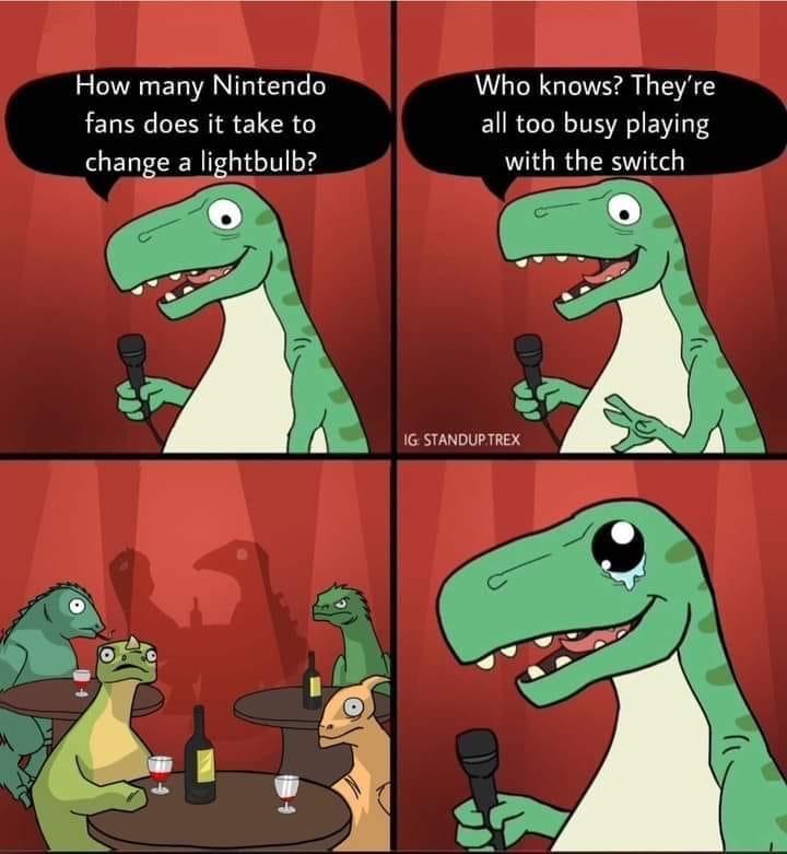 Memes Nintendo switch puns