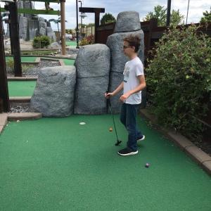 The big e mini golf course Gaffney South Carolina