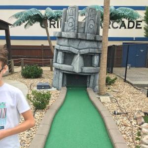 Mini golf the big e Gaffney South Carolina