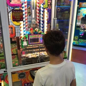 Willy Wonka arcade coin game the big e Gaffney South Carolina