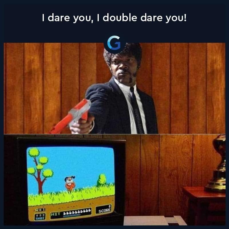 Memes duck hunt Nintendo entertainment system
