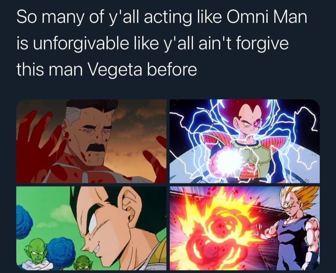Memes Times vegeta was evil