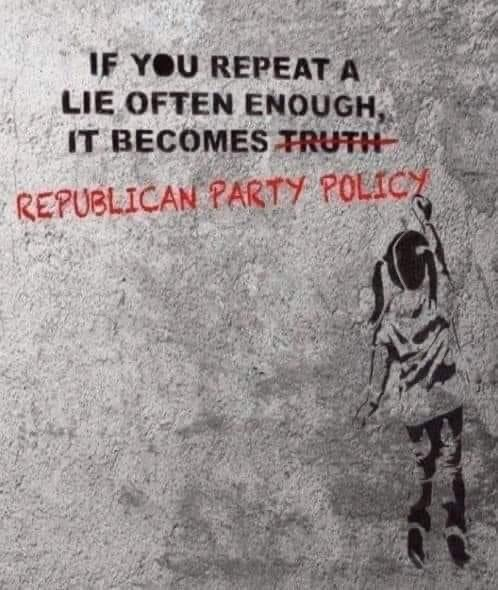 Memes republican party the party of lies