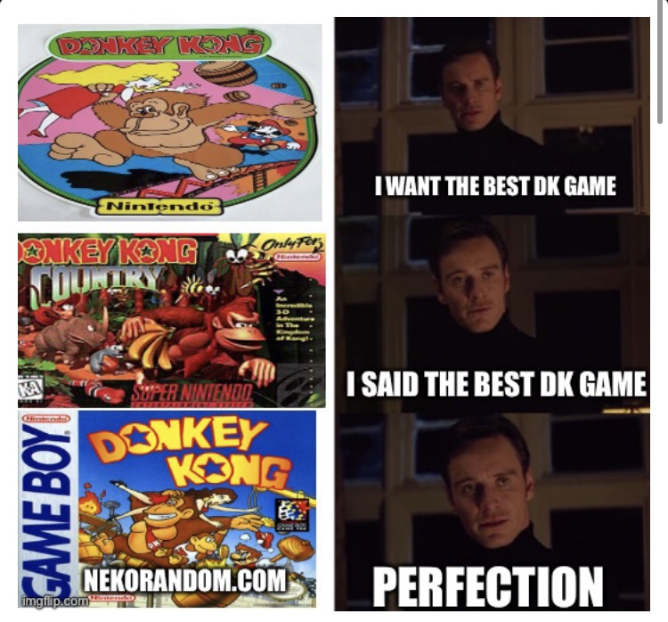 Memes donkey Kong 94 Nintendo game boy