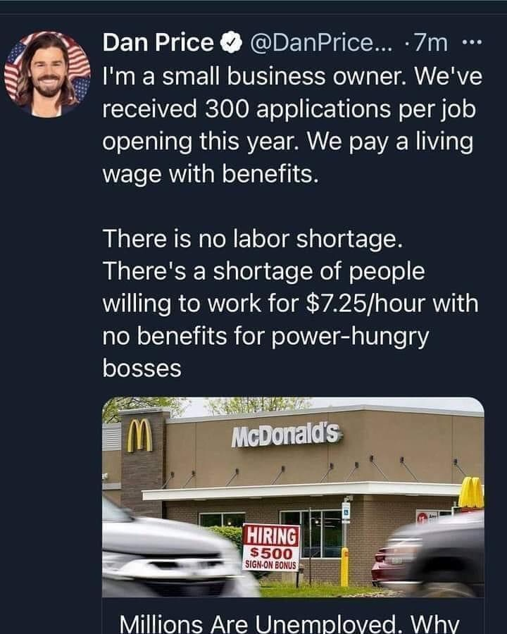 Memes Paying a living wage