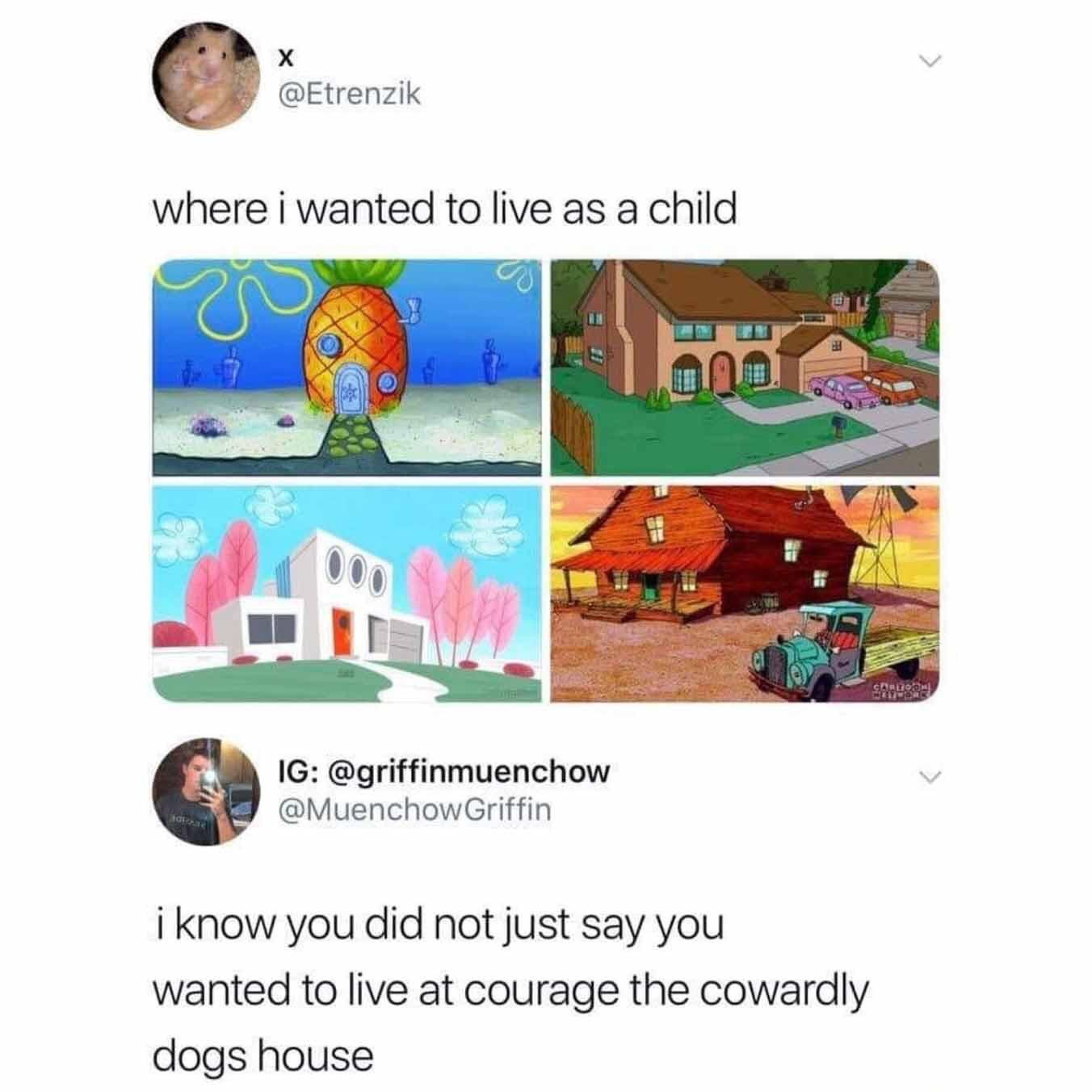 Memes courage the cowardly dog Cartoon Network