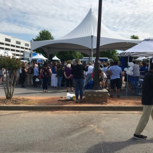 Dancing at the Greek Festival Greenville South Carolina