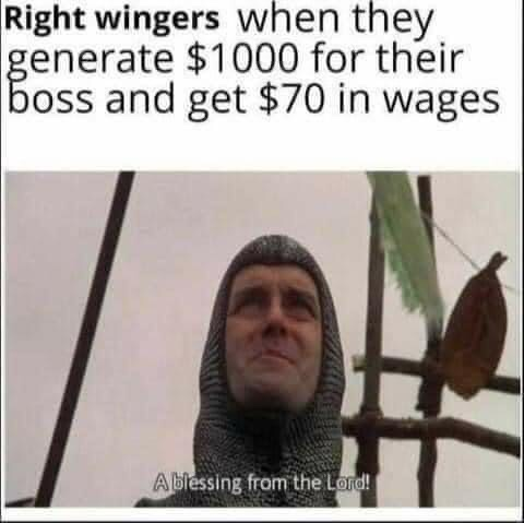 Memes right wing bootlickers