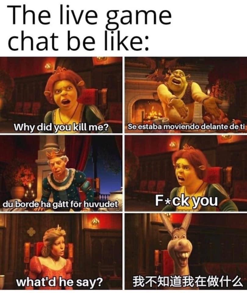 Memes Voice chat Xbox live