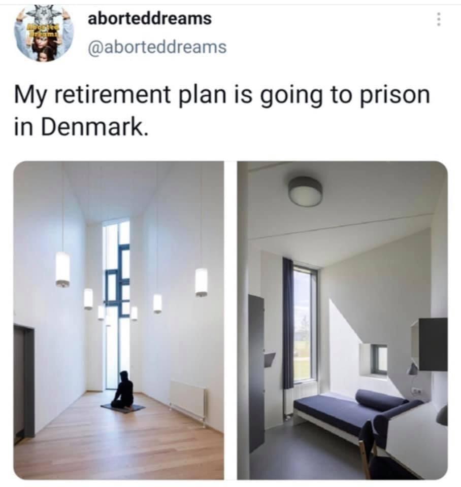 Memes prison in Denmark