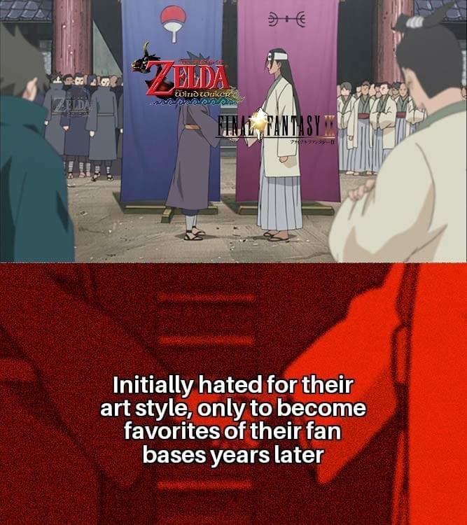 Memes The legend of Zelda final fantasy