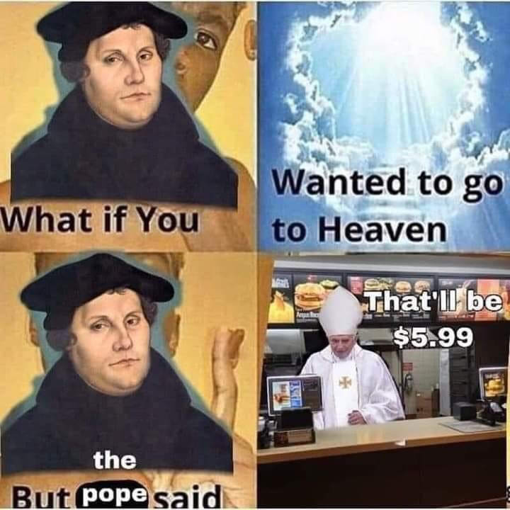 Memes catholic church charging to get into heaven