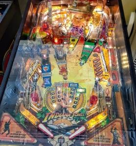 Indiana Jones Pinball machine board