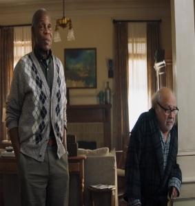Grandpa Eddie and milo walker Jumanji: The Next Level