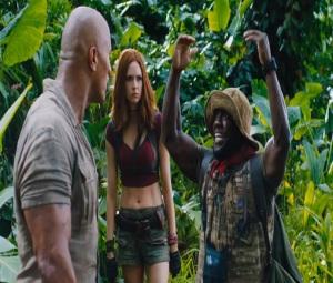 Everyone freaks out Jumanji welcome to the Jungle movie