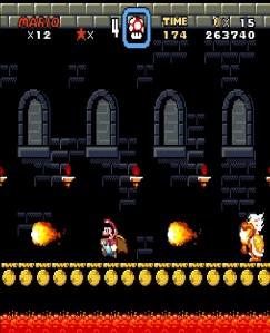 Ludwig Von Koopa fireballs super Mario World snes super Nintendo