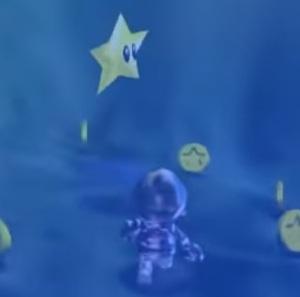 Metal Cap Mario underwater star Super Mario 64 Nintendo 64 N64