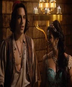 Aladdin and Princess Jasmine once upon a time ABC Karen David deniz akdeniz
