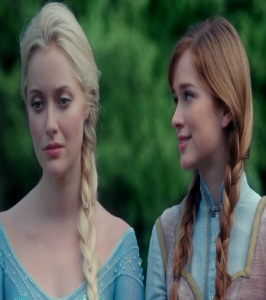 Princess Anna and queen Elsa once upon a time ABC Elizabeth Lail
