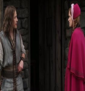 Princess Anna meets David as a shepherd once upon a time ABC Elizabeth Lail