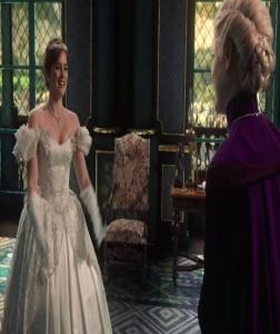 Princess Anna wedding dress once upon a time ABC Elizabeth Lail