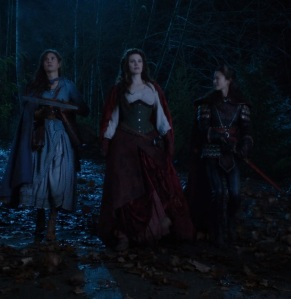 Dorothy Gale ruby red riding hood and mulan once upon a time ABC Teri Reeves