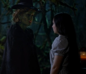 Dorothy Gale vs Zelena wicked witch once upon a time ABC Matreya Scarrwener