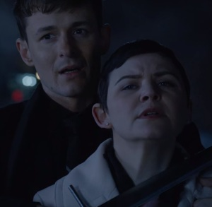 Gideon Gold vs snow white Mary Margaret once upon a time Giles Matthey