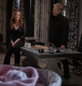 Hades in love with Zelena once upon a time ABC Greg Germann