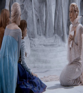Once Upon a time Ingrid sacrifices herself Elizabeth Mitchell