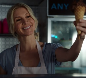 Once Upon a time Ingrid holding ice cream Elizabeth Mitchell