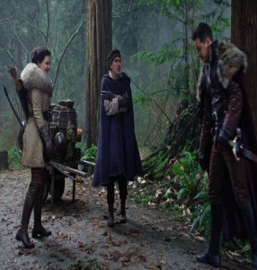 Snow white and prince charming meet Isaac Heller the author once upon a time ABC Patrick Fischler