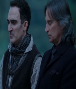 Isaac Heller the author allies with Rumplestiltskin mr gold once upon a time ABC Patrick Fischler