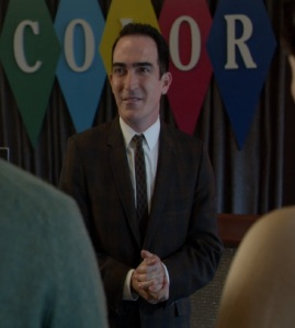 Isaac Heller the author TV salesman once upon a time ABC Patrick Fischler
