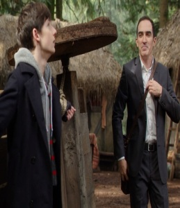 Isaac Heller the author and Henry Mills once upon a time ABC Patrick Fischler