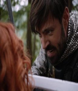 King Arthur vs merideth once upon a time Liam Garrigan