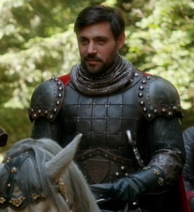 King Arthur once upon a time Liam Garrigan