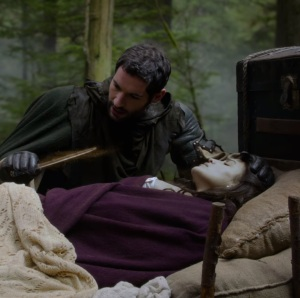 Maid Marian under sleeping curse once upon a time Christie Laing